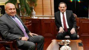 Samsunspor'lu yöneticiler